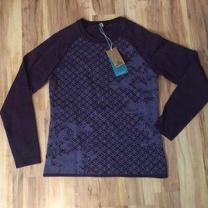 NWT Prana Purple sweater